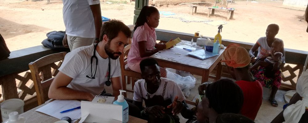 Interprofessional Collaboration in Primary Care in Sierra Leone: a live report of 9 months working with MSF